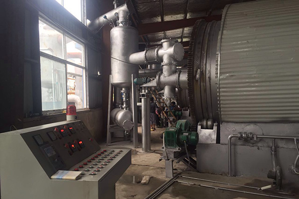 Quzhou waste plastic tire refining equipment